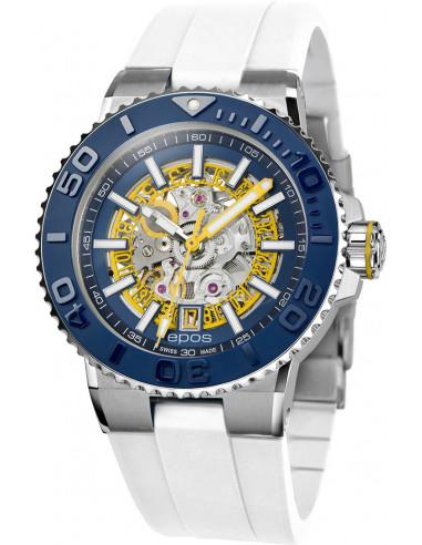 Epos Sportive Diver 3441.135.96.16.30 automatic skeleton watch Epos - 1