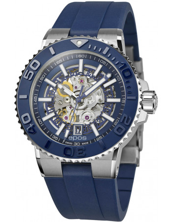 Epos Sportive Diver 3441.135.26.16.56 automatic skeleton watch Epos - 1