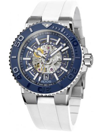 Epos Sportive Diver 3441.135.26.16.50 automatic skeleton watch Epos - 1