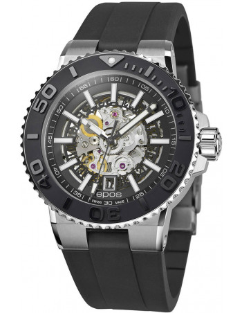 Epos Sportive Diver 3441.135.25.15.55 automatic skeleton watch Epos - 1