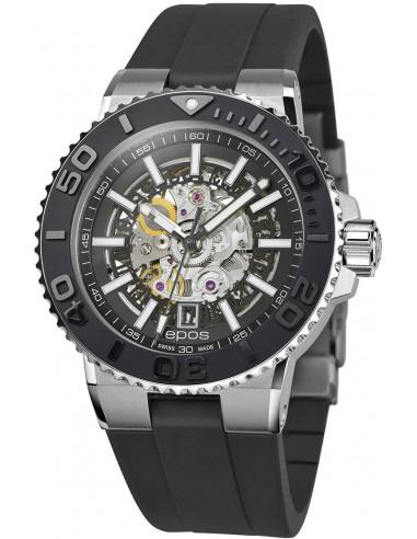 Epos Sportive Diver 3441.135.25.15.55 automatic skeleton watch Epos - 1