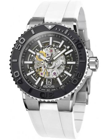 Epos Sportive Diver 3441.135.25.15.50 automatic skeleton watch Epos - 1