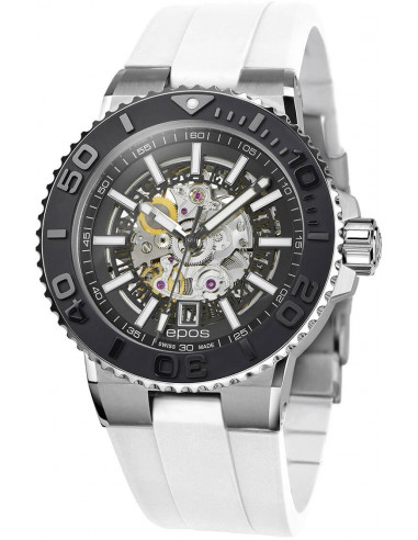 Epos Sportive Diver 3441.135.25.15.50 automatic skeleton watch Epos - 1