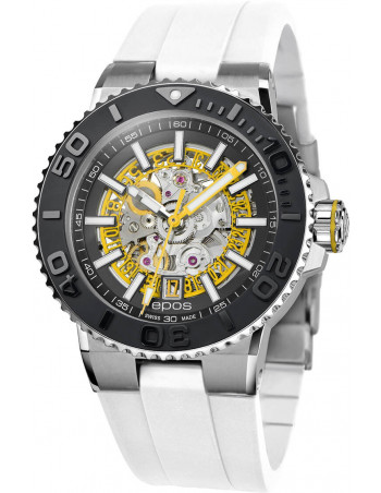 Epos Sportive Diver 3441.135.20.15.50 automatic skeleton watch Epos - 1