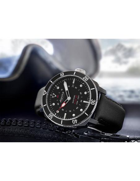 Alpina Seastrong Horological Smartwatch AL-282LBB4V6 Alpina - 2