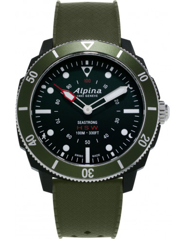 Alpina Seastrong Horologiczny smartwatch AL-282LBGR4V6 594.082708 - 1