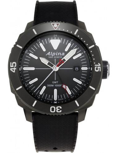 Zegarek Alpina Seastrong Diver GMT 300 AL-247LGG4TV6 693.928542 - 1
