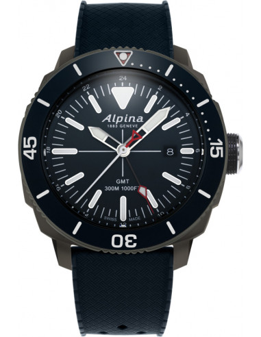 Hodinky Alpina Seastrong Diver GMT 300 AL-247LNN4TV6 693.928542 - 1