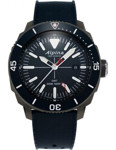 Zegarek Alpina Seastrong Diver GMT 300 AL-247LNN4TV6 693.928542 - 1