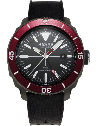 Alpina Seastrong Diver GMT AL-247LGBRG4TV6 watch Alpina - 1