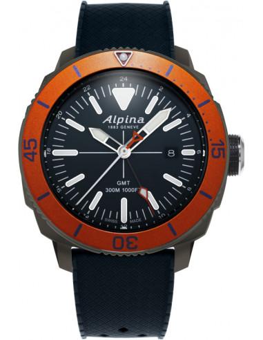 Zegarek Alpina Seastrong Diver GMT AL-247LNO4TV6 693.928542 - 1