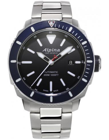 Zegarek Alpina Seastrong Diver 300 AL-525LBN4V6B 1293.003542 - 1