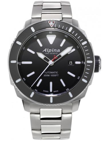 Zegarek Alpina Seastrong Diver 300 AL-525LBG4V6B 1293.003542 - 1