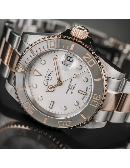 Davosa 161.555.63 Ternos Ceramic automatic watch 856.67725 - 3