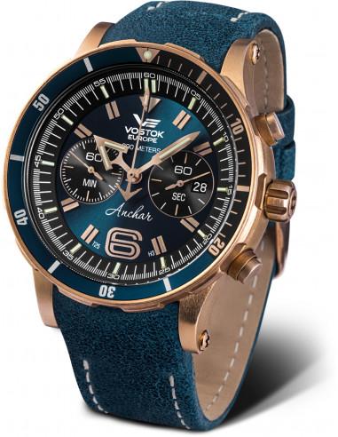 Vostok Europe Anchar Submarine Chrono Line Diver 6S21/510O586 watch 647.999458 - 1