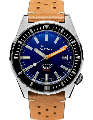 Squale Squalematic 60ATM Dark Blue professional diving watch Squale - 1