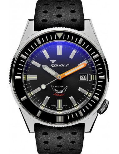 Squale Squalematic 60ATM Grey professional diving watch 1227.105292 - 1