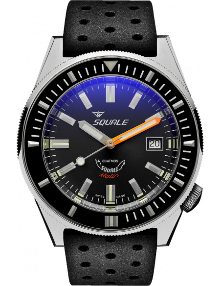 Squale Squalematic 60ATM Grey professional diving watch Squale - 1
