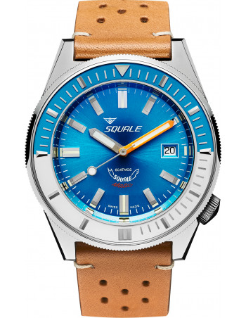 Squale Squalematic 60ATM Jasnoniebieski profesjonalny zegarek do nurkowania Squale - 1