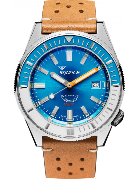 Squale Squalematic 60ATM Light Blue professional diving watch Squale - 1
