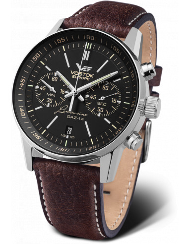 Zegarek chronograf Vostok Europe 6S21 / 565A599 GAZ 14 403.377167 - 1