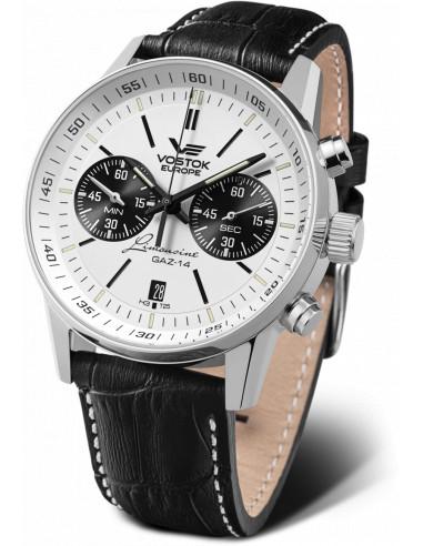 Zegarek chronograf Vostok Europe 6S21 / 565A598 GAZ 14 403.377167 - 1