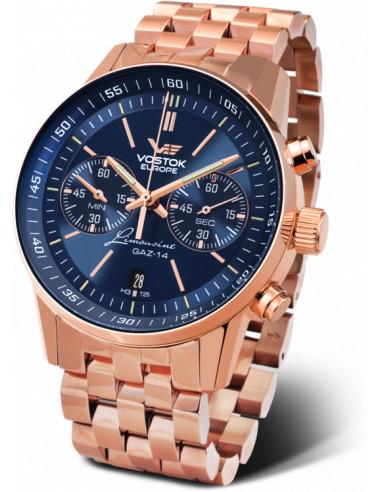 Zegarek chronograf Vostok Europe 6S21 / 565A596B GAZ 14 543.161333 - 1