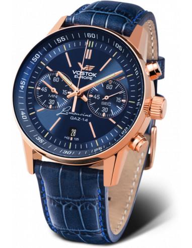 Zegarek chronograf Vostok Europe 6S21 / 565A596 GAZ 14 463.284667 - 1