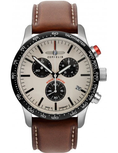 Zeppelin 7296-1 Nightcruise chronograph watch 289.582871 - 1