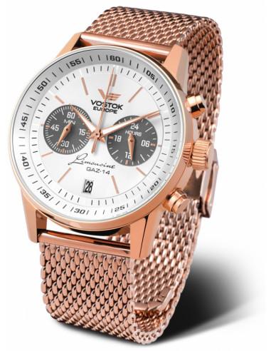 Vostok Europe VK64-560B600B GAZ 14 Chronograph watch 338.477375 - 1