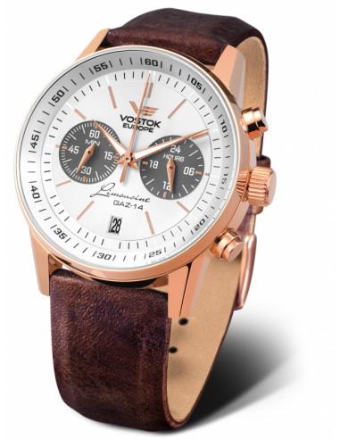 Zegarek chronograf Vostok Europe VK64-560B600 GAZ 14 278.569875 - 1