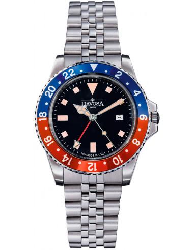 Davosa 163.500.90 Vintage Diver Kwarcowy zegarek 367.432667 - 1