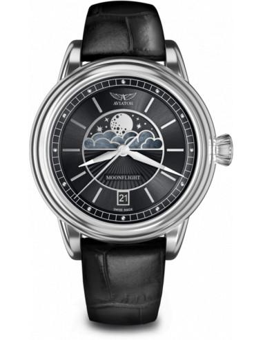 Zegarek AVIATOR Douglas Moonflight V.1.33.0.252.4 374.421875 - 1