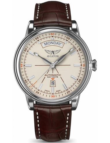 AVIATOR Douglas dzień-data V.3.20.0.141.4 zegarek 923.569965 - 1