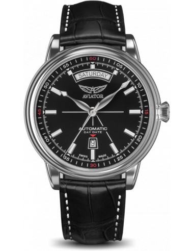 AVIATOR Douglas dzień-data V.3.20.0.142.4 zegarek 948.539411 - 1