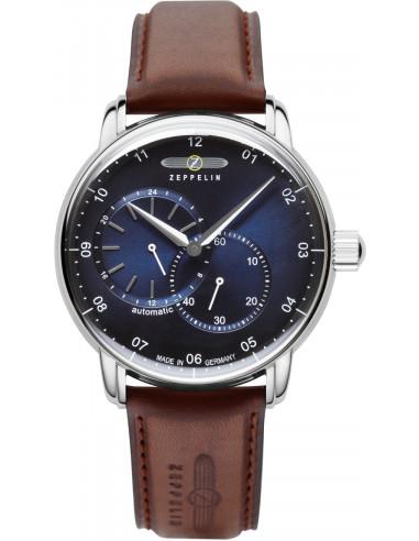 Automatyczny zegarek Zeppelin 8662-3 Captain's Line 289.582871 - 2