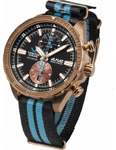 Vostok Europe 6S11-320O266N Almaz Bronze chronograph watch 513.20359 - 1