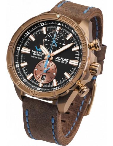 Zegarek chronograficzny Vostok Europe 6S11-320O266 Almaz Bronze 523.196161 - 1