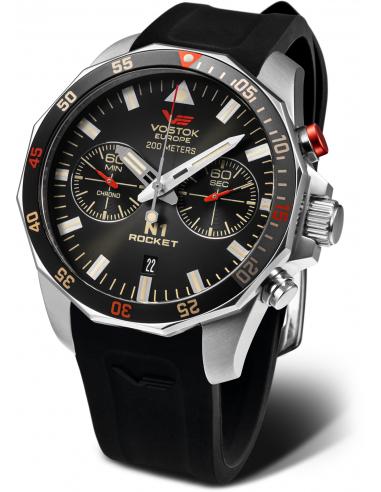 Zegarek chronograf Vostok Europe N1 Rocket 6S21-225A618S 303.049997 - 1