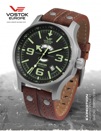 Vostok Europe Expedition North Pole 1 2432-5955193 watch