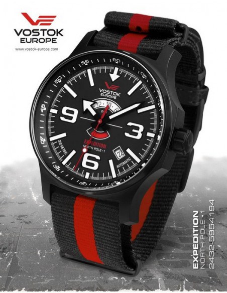 Vostok Europe Expedition North Pole 1 2432-5955194 watch