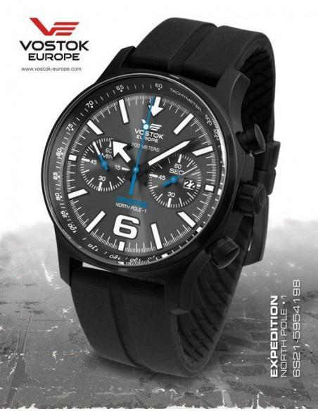 Vostok Europe Expedition North Pole 1 6S21-5954198 watch