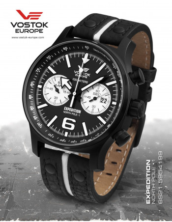 Vostok Europe Expedition North Pole 1 6S21-5954199 watch