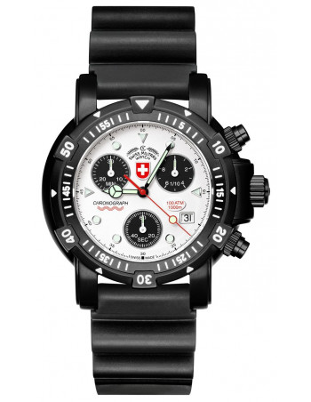 CX Swiss Military Seawolf I Scuba Nero 2415 watch