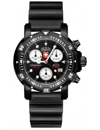 CX Swiss Military Seawolf I Scuba Nero 2416 watch