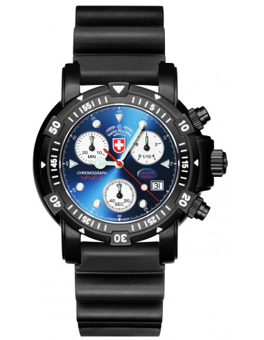 CX Swiss Military Seawolf I Scuba Nero 2417 watch