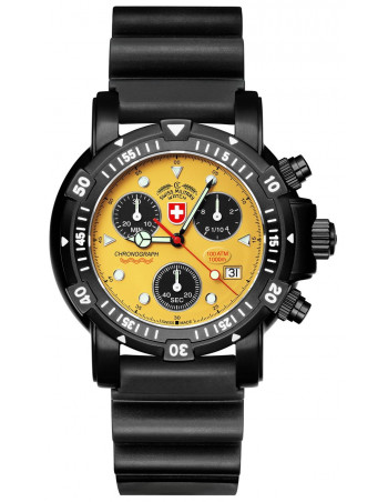 CX Swiss Military Seawolf I Scuba Nero 2418 watch