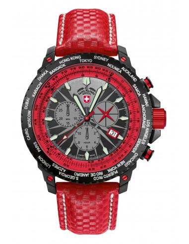 CX Swiss Military 24771 Hurricane Worldtimer watch