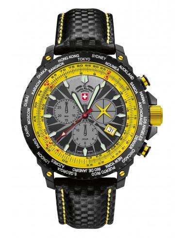 CX Swiss Military 24781 Hurricane Worldtimer watch
