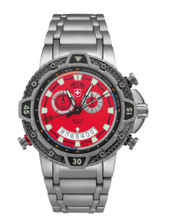 CX Swiss Military 2483 Typhoon watch